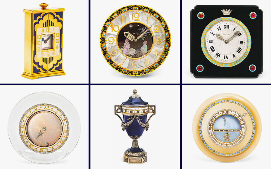 101 rare Cartier clocks are going to auction next month